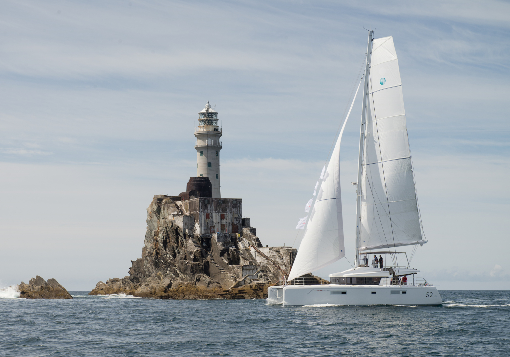 Sailing Boat On Lagoon - Boat Registration Services Ireland