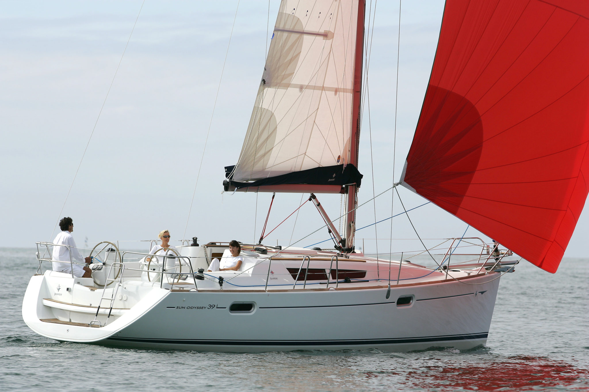 Red Sail Boat - Boat Registration Services Ireland